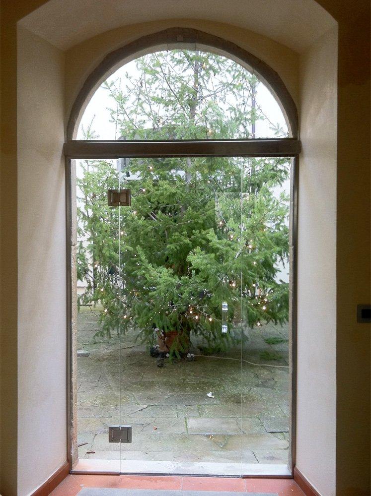 Porta a battente per esterno - Porte in vetro da esterno ...